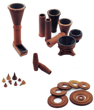 accessoires de coulée pour fonderie